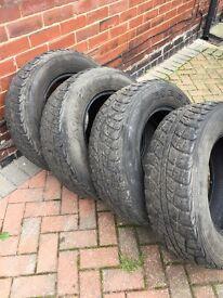 235/70/16 part worn tyres