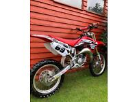 Honda cr85 cr 85 motorcross bike not ktm yz kx rm