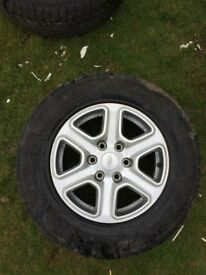 Ford Ranger Alloy Wheels and Tyres