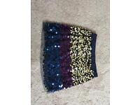 Age 9-10 years girls sequin skirt