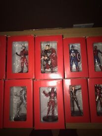 marvel file magazines and figures
