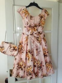 Vintage style dress by oasis, size 8