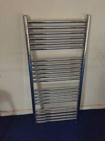 Stainless steel chrome towel radiator
