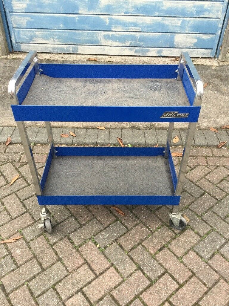 Snap on mac tools tool trolley very mobile storage bench box