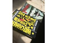 Watchmen and v for vendetta