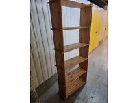 Tall, Wood Bookcase - for Storage or to Display Objects!