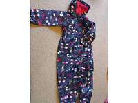 Blue Zoo waterproof over-suit age 4-5