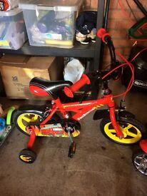 "Children's boys 12"" bike"