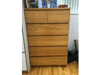 DON'T MISS OUT!! 3 Chests of drawers MALM - Like new!