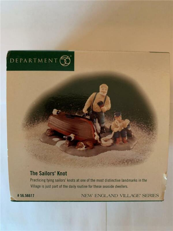 Dept 56 New England Village Series The Sailor