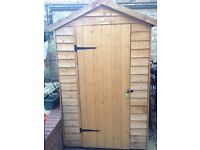 6x4 shed wooden shed