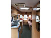 Bailey Pageant Auvergne Touring Caravan 5 berth