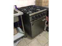 Gas Cooker, Industrial style, Big, Easy to use. BARGAIN - MY PRICE, SEE AD!!