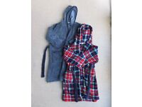 Boys dressing gowns age 7 and age 9
