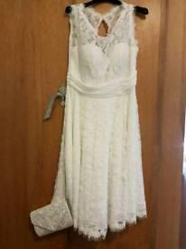 Wedding ivory dress size 14