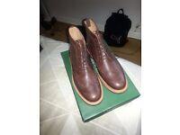 SIZE 9 Samuel Windsor brogue boots (Brand new)