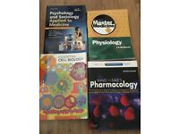 Medical textbooks in excellent condition, useful for a new or current medicine student.