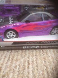 Nissan Skyline GT-R (R34) Radio Control Car