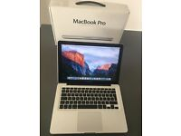 "Apple MacBook Pro 13"", 2.4GHz Intel Core i5, 500GB, 4GB, original box (Late 2011)"