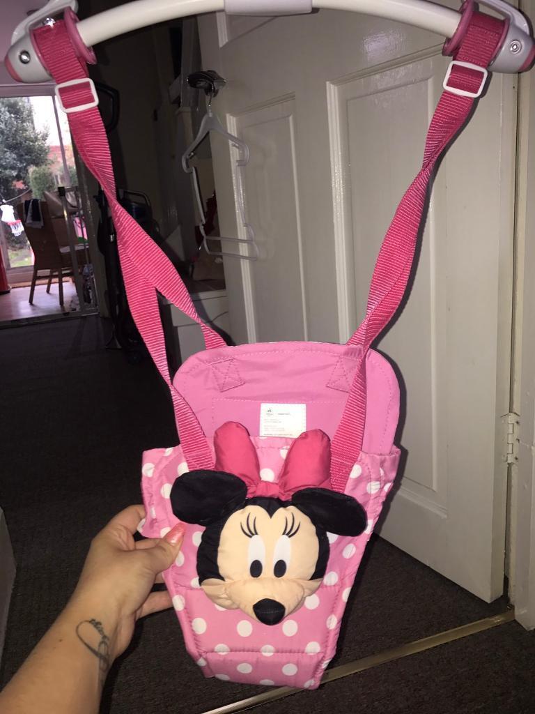 Minnie Mouse door bouncer