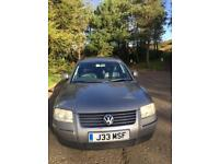 Passat Highline Estate 130. Grey 2004. 1984cc. Private number plate included.
