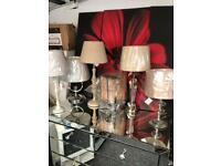 Table lamps from £10 Dukes furnishings in Dennistoun