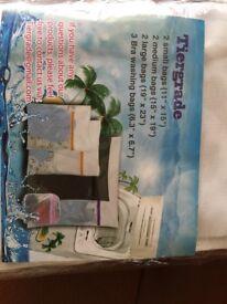 Tiergrade deluxe wash bags