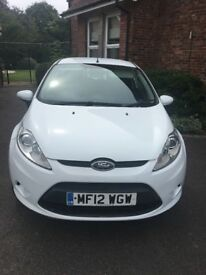 Low mileage Ford Fiesta 1.25.