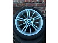 """BMW wheel and tyre 18"""""""