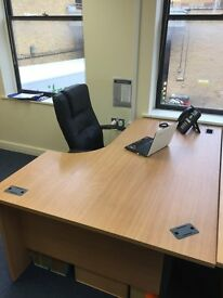 3x Corner office desks - excellent condition