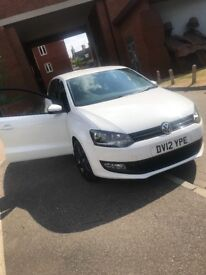 Lovely Volkswagen polo match with **bluetooth**
