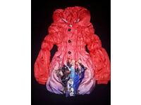 Red Frozen Coat