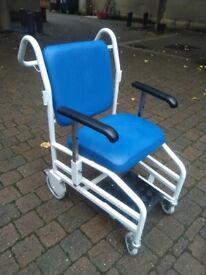 Bristol Maid Front-Steer Nesting Portering wheelchair (£909 new) central Ldn