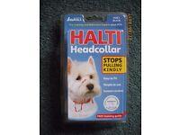 BRAND NEW - Halti Headcollar Size 1/Black