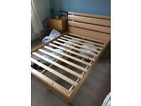 Double bed frame - free for collection.