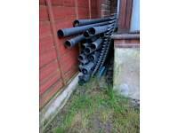 Cast iron style plastic down pipe downpipe