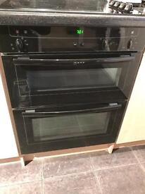 Neff Double Oven Black