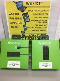 XBOX ONE DIGITAL TV TUNER AND MEDIA REMOTE