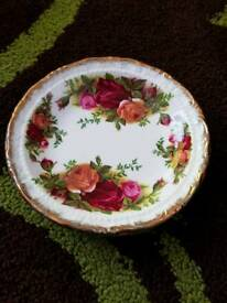 Royal Albert country rose bone china