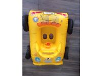 Baby Kids Inflatable sit in Car Sear with Wheels