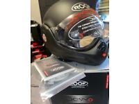 ROOF Desmo 3 matt black helmet motorcycle helmet