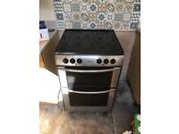 Belling Electric cooker with ceramic hob,grill and assisted fan oven.