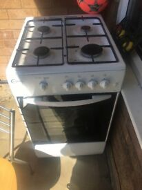 Gas cooker never been used due to not gas supply at property brought second hand