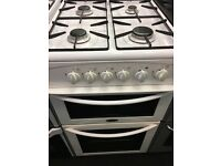 BELLING 50CM ALL GAS COOKER IN WHITE