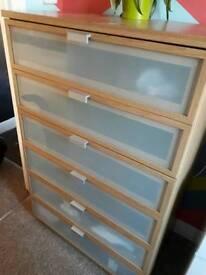 Ikea Hopen 6 drawers dresser