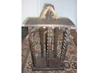 Ethnic Carved CD/DVD Stand (or just a nice feature)