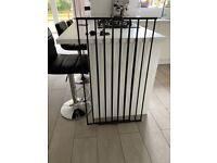 Extra tall metal pet gate