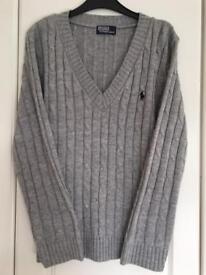 Ralph Lauren ladies cable knit jumper