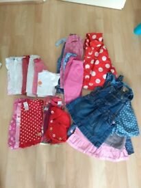 Girls 6-9 months clothing bundle