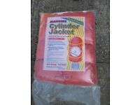 Hot water tank cylinder jacket